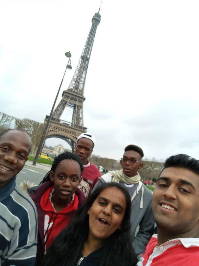 STUDY TRIP TO EUROPE.