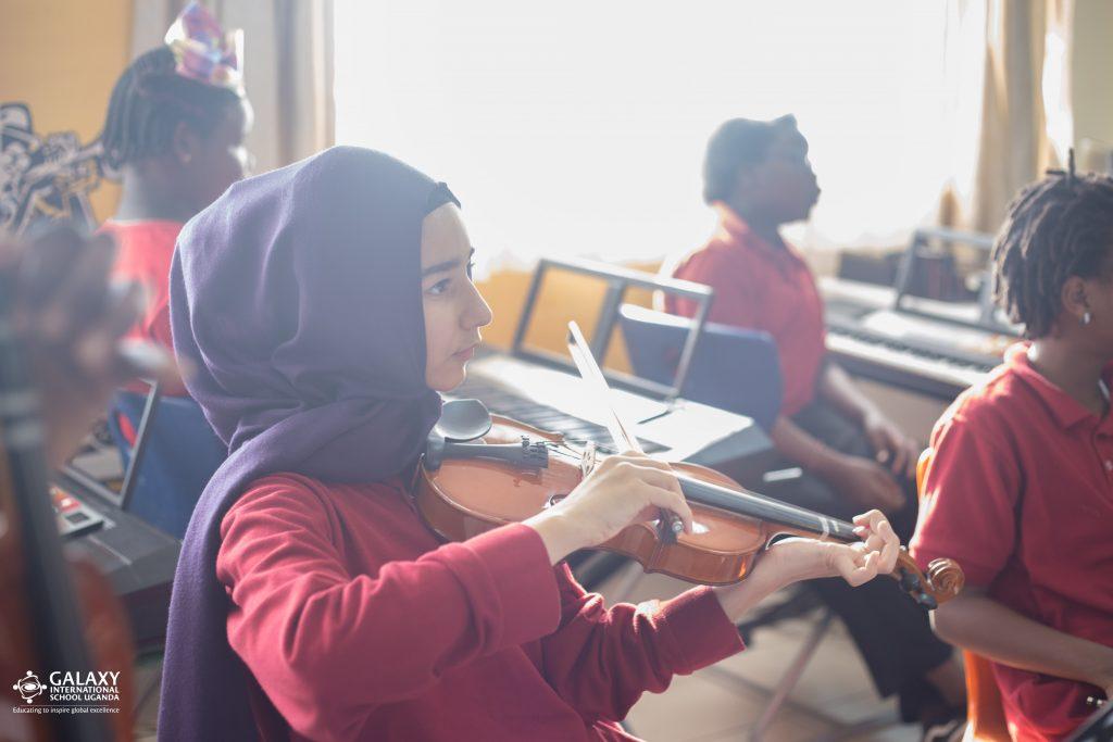 Galaxy International School Uganda   Music Classes@Gisu